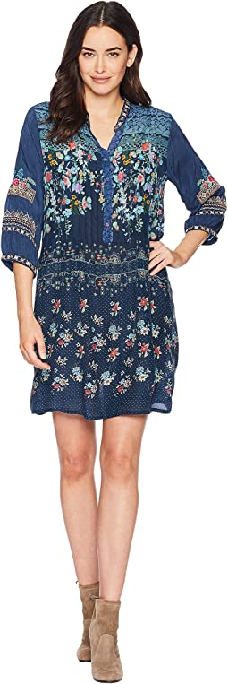 Dotted Bouquet Tunic Dress
