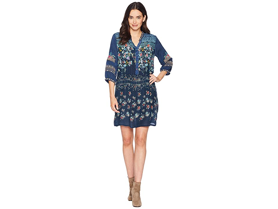 Johnny Was Dotted Bouquet Tunic Dress (Multi) Women