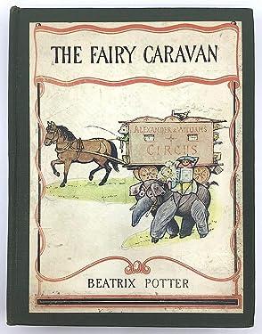 1929 Vtg The Fairy Caravan Beatrix Potter Illustrations First Edition 1st Print