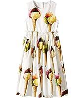 Dolce & Gabbana Kids - Gelato Poplin Dress (Big Kids)