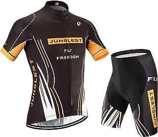 jngles Cycling Jersey Set Wen Short Sleeve(S~5XL,Option:bib,3D pad) N34