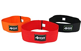 4KOR Fitness Resistance Loop Band Set, Perfect for Crossfit, Yoga, Physical Therapy, and Booty Building