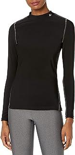 Starter Womens Women's Long Sleeve Mock Neck Compression Tee