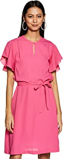 United Colors of Benetton Polyester Fit and Flare Casual Dress