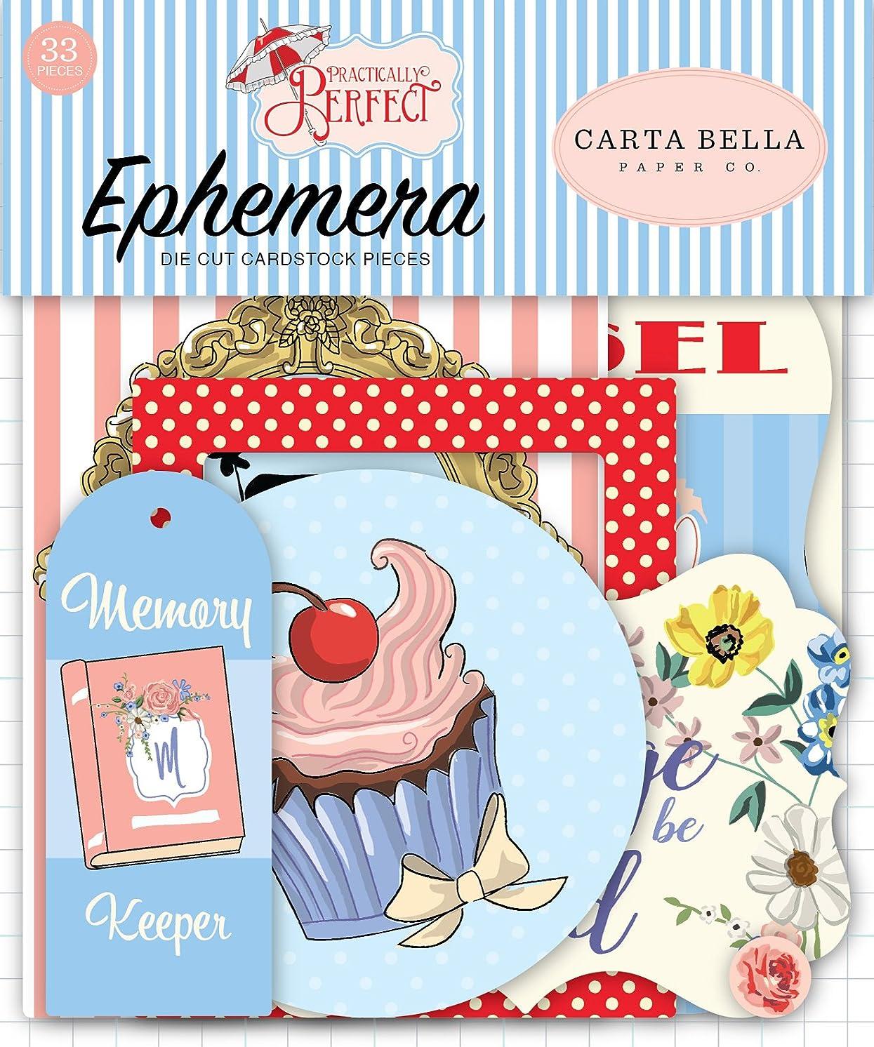 Carta Bella Paper Company Practically Perfect Ephemera