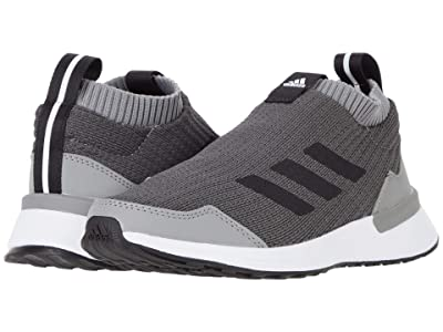 adidas Kids RapidaRun LL (Big Kid) (Grey Four/Core Black/Grey Three) Kids Shoes