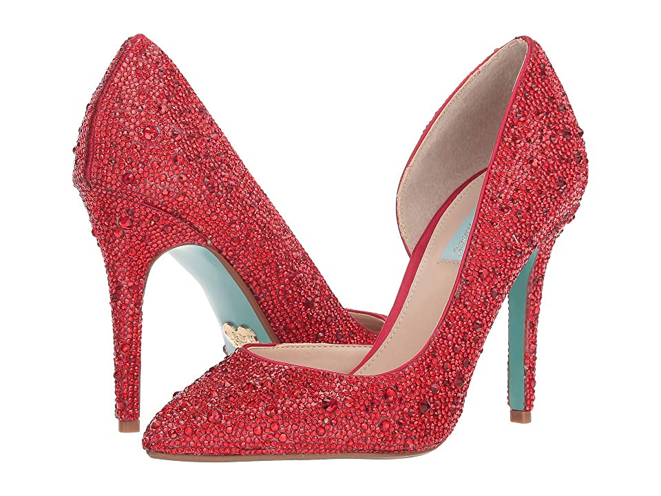 Blue by Betsey Johnson Hazil (Red) High Heels