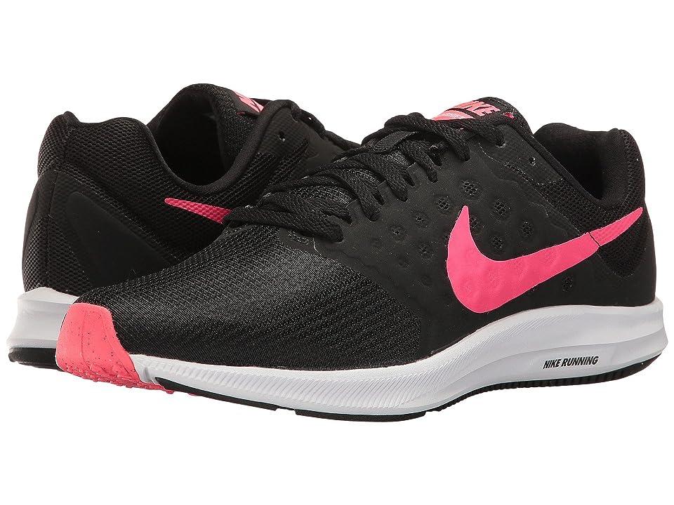 Nike Downshifter 7 (Black/Racer Pink/White) Women