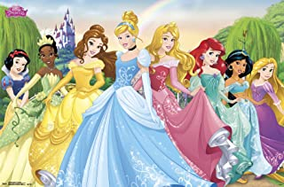 Trends International Disney Princess Group Wall Poster 22.375