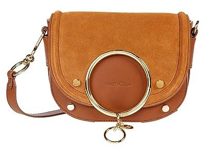 See by Chloe Mara Shoulder Bag (Caramello) Handbags