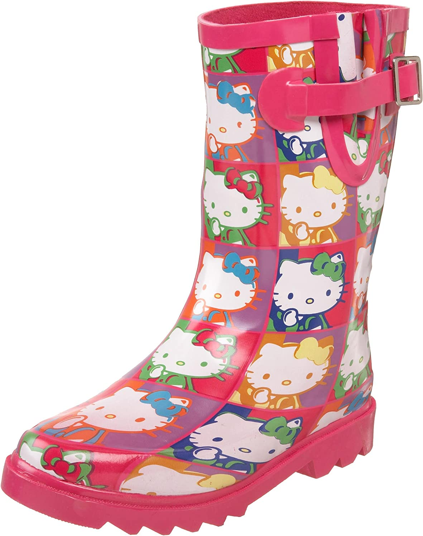 Chooka Toddler Little Kid Hello OFFicial shop Retrospective Kitty Boot Rain Japan's largest assortment