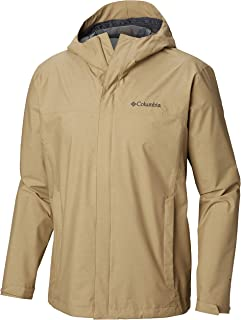 Columbia Men's Diablo Creek Rain Shell Jacket, Waterproof & Breathable