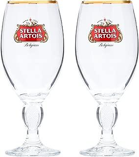 Stella Artois 2-Pack Original Glass Chalice, 33cl