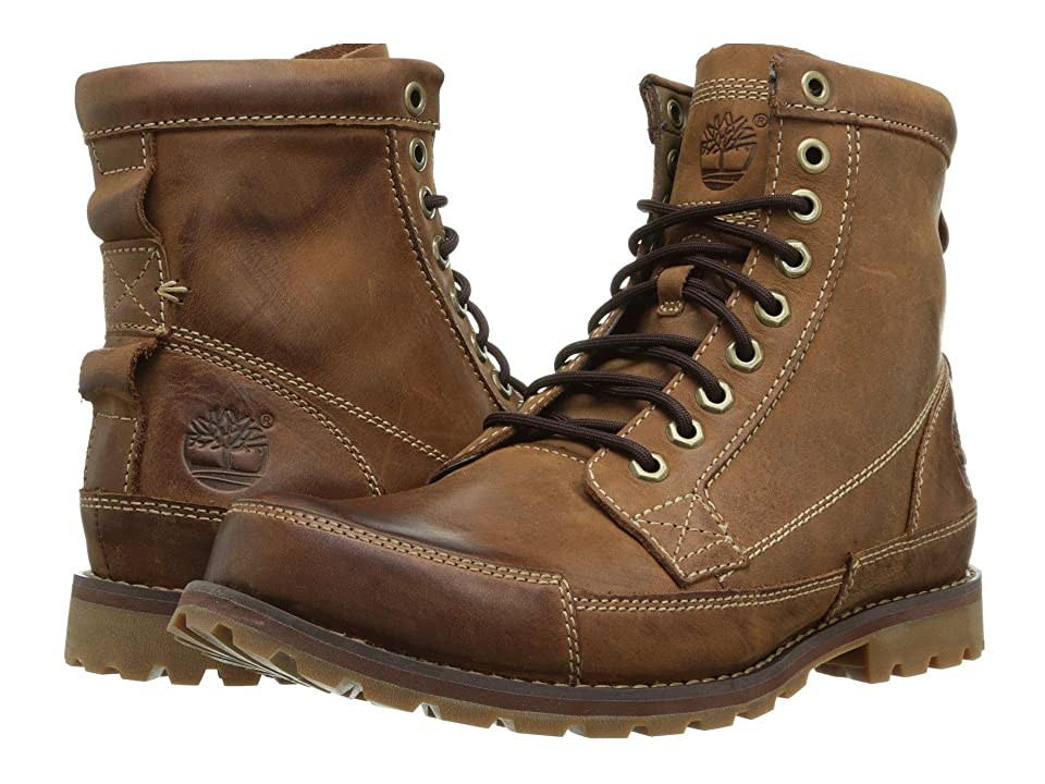 Timberland Earthkeepers(r) Rugged Original Leather 6 Boot (Brown) Men's Lace-up Boots
