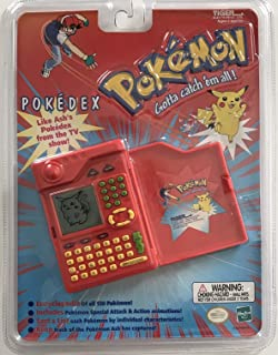 Pokemon Pokedex Organizer Electronic Handheld Game