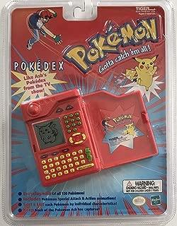 Pokedex Tiger Pokemon Organizer Talking Electronic Handheld Game