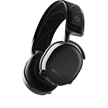 SteelSeries Arctis 7 - Lossless Wireless Gaming Headset with DTS Headphone: X v2.0 Surround - For PC and PlayStation 4 - Black