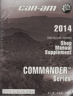 2014 CAN-AM ATV SIDE BY SIDE COMMANDER SERIES SHOP MANUAL SUPPLEMENT (139)