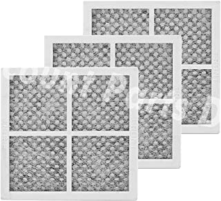 Pack of 3 LT120F Replacement Air Filter for LG Refrigerator, Replaces 469918, ADQ73214404, AP5629741, ADQ73214402, 2308805, ADQ73214406, PS3654115