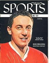 Jan 23 1956 Jean Beliveau Montreal Hockey No Label Sports Illustrated SIMisc1