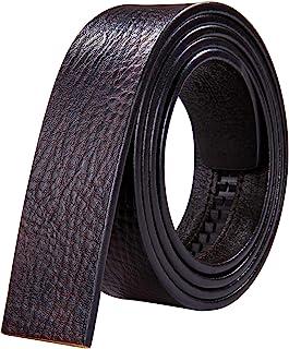 Barry.Wang الرجال سقاطة مشبك أو ly جلد طبيعي حزام استبدال النيكل مشبك قابل للتعديل