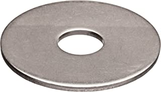 18-8 Stainless Steel Flat Washer, 1/4