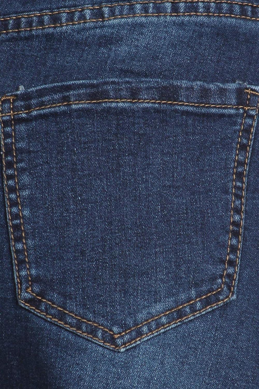 Women's Plus Size High Rise Pencil Long Jeans Maxi Denim Skirt