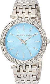 Michael Kors Womens Quartz Watch, Analog Display and Stainless Steel Strap MK3515