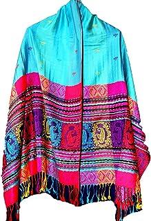 Highwaypay Women`s Fashionable Paisley Style Pashmina Shawl Wrap Scarf