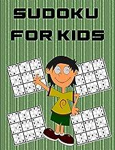 Sudoku For Kids: 50 Easy Fun Kids Soduku for Improving Logical Skills. Sudoku Book for Kids, Sudoku Puzzle Books for Kids, Soduko for Kids,solutions large print