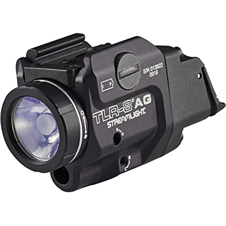 Streamlight 69434 TLR-8A G Flex Low-Profile Rail-Mounted Tactical Light, Black/Green Laser