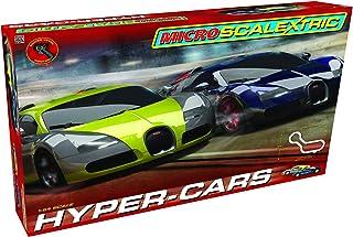 Scalextric Micro Hyper-Cars Race Slot Car Set (1: 64 Scale)