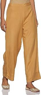 global desi Women's Straight Fit Pants