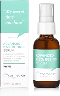 COSMEDICA Retinol Serum 2.5%, 1 Ounce
