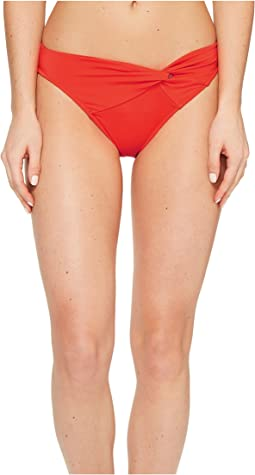 Jetset Asymmetrical Twist Front Bikini Bottom