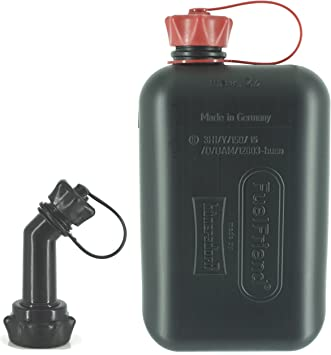 FuelFriend®-BIG max. 2.0 liters + spout lockable - Jerrycan with UN approval: image