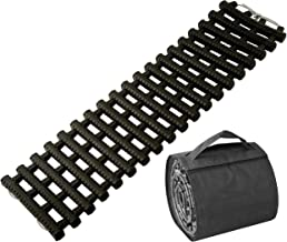 BUNKERWALL One Recovery Track Mat for Ice Snow or Sand Ladder Emergency Traction for Vehicle Tires with Carry Bag