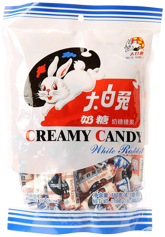 White Rabbit Creamy Dallas Mall Candy 6.3 2 Ranking TOP18 Pack 180 Oz Gram