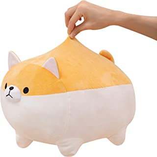 kawaii stuffed animal, cute plush toy, Shiba Inu dog super soft plush throw pillow