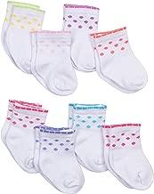 GERBER Baby Girls' 8-Pair Sock
