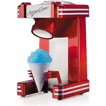 Nostalgia RSM702 Retro Single Snow Cone Maker, Red