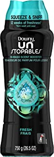 Downy Unstopables in-Wash Scent Booster Beads, Fresh Scent, 750 g - Packaging May Vary