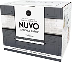 Nuvo Earl Grey All-in- All-in-One Cabinet Makeover Kit, Charcoal