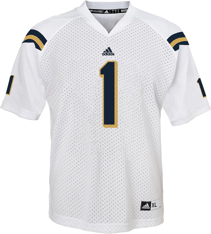 Amazon.com: adidas UCLA Bruins #1 White Replica Youth Football ...