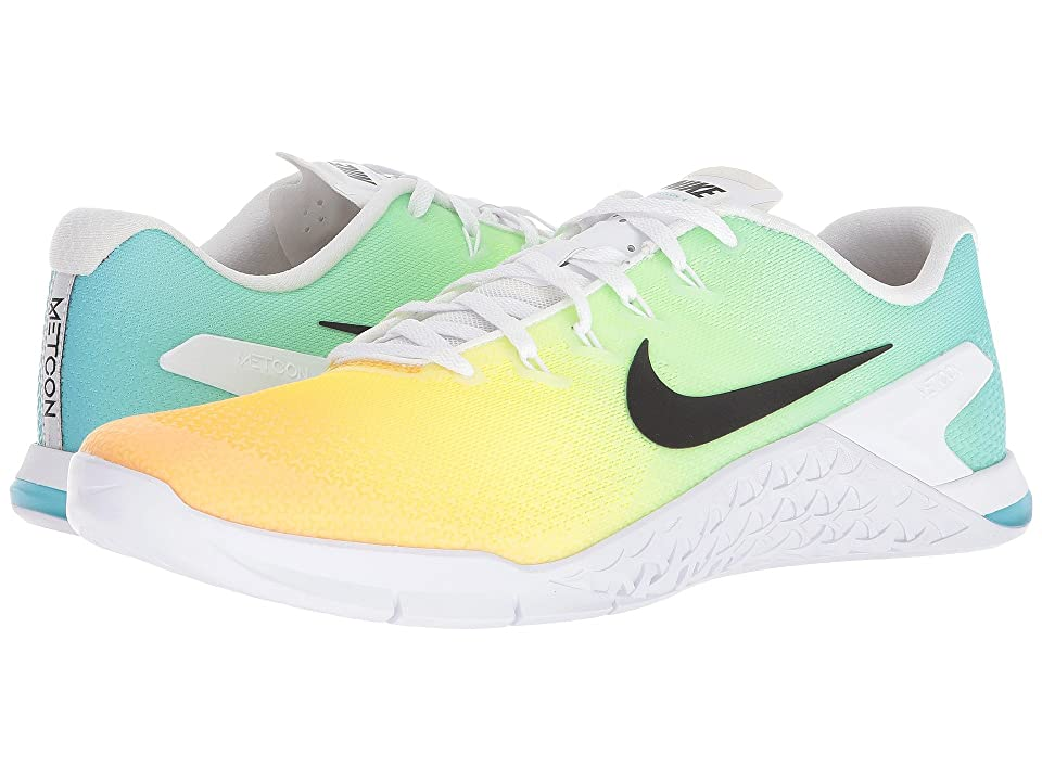 Nike Metcon 4 (White/Black/Lagoon Pulse) Men