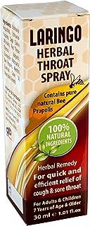 DAN Pharm LARINGO Herbal Throat Spray Contains Pure Natural Bee Propolis. 100% Natural Herbal Remedy. for The Quick & effi...