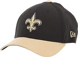 NFL Team Classic 39THIRTY Flex Fit Cap - New Orleans Saints