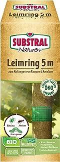 Substral Naturen Bio Leimring, Raupenleimring inkl. Bindedraht, gegen Raupen, Ameisen und andere Schadinsekten, 5m