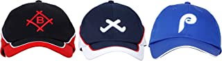 OJASS Embroidered 3D Embroidered Cap (Pack of 3)-Free Size