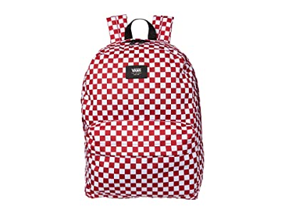 Vans Old Skool III Backpack (Chili Pepper Checkerboard) Backpack Bags